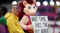 OBRAZEM: Boltův konec, londýnská radost i bolest