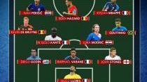 Modrič, Hazard, Mbappé a spol. – nejlepší jedenáctka fotbalového svátku v Rusku