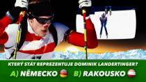 Soutěž k MS v biatlonu – Dominik Landertinger