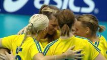 Do semifinále dle očekávání postoupily Finky i Švédky