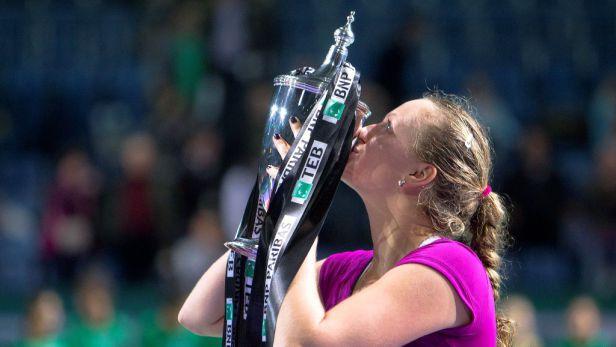 Petra Kvitová triumfovala na Turnaji mistryň