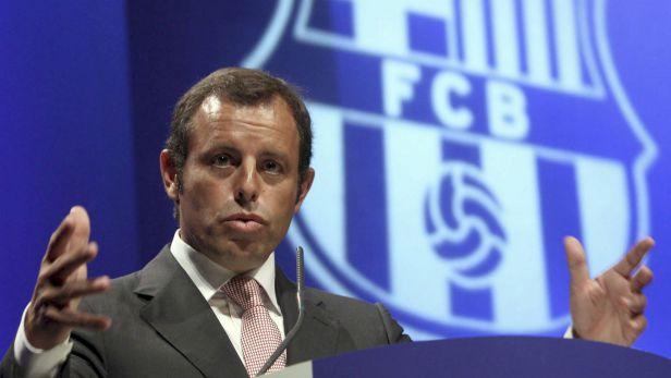 Barcelonský prezident Rosell odstoupil kvůli žalobě z funkce