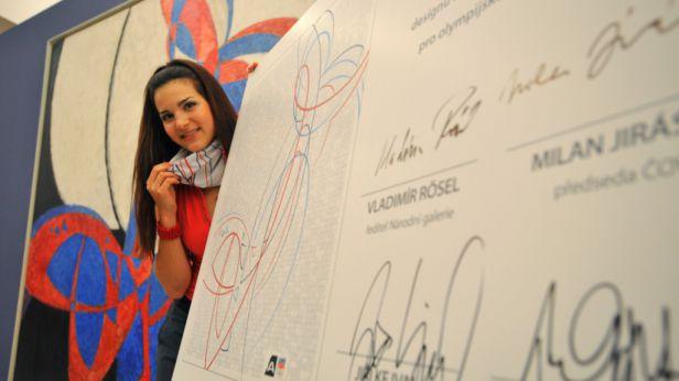 Čeští olympionici se oblečou do Kupkových linií