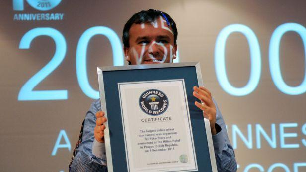 V Praze padl Guinnessův rekord v on-line pokeru