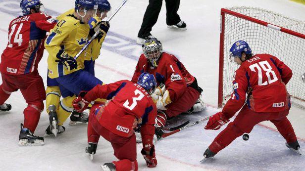 Češi podlehli obhájcům titulu ze Švédska