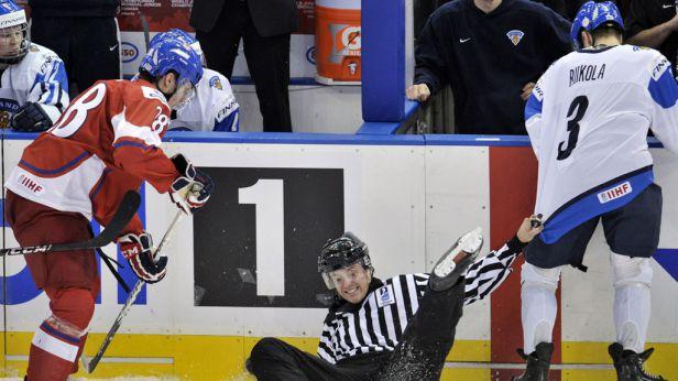 Češi porazili favorizované Finsko 3:1