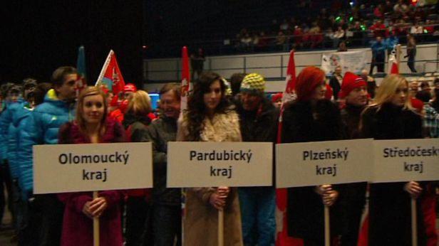 V Ostravě odstartovala dětská zimní olympiáda