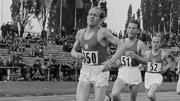 MOV zrestauroval záběry ze Zátopkova běhu z Londýna 1948