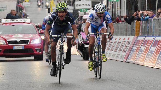 Ve 14. etapě Gira d'Italia se blýskl druhým místem Jan Bárta