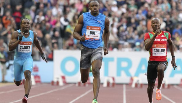 Nenávidím tréninky, miluju závody, prozradil na Ostravu natěšený Bolt