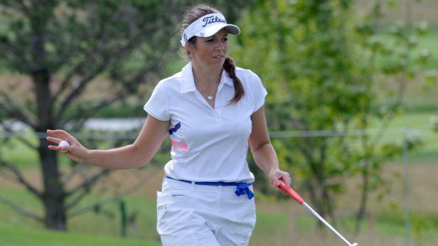 Golfistky Vlčková a Kousková si v Dýšině zahrají finále, Spilková neuspěla