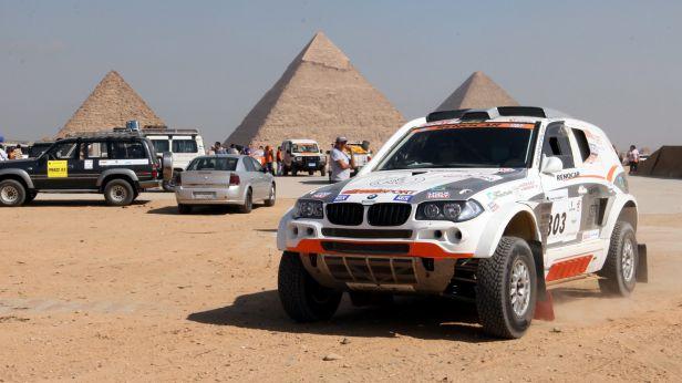 Zapletal byl v Rallye Hedvábné stezky třetí, Loprais čtvrtý
