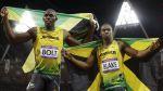 Bolt a Blake po finále olympijské stovky