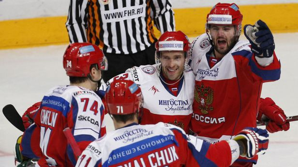 Hvězdné Rusko deklasovalo Čechy poměrem 6:0