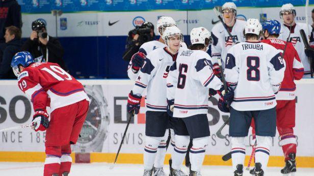 Američané uštědřili českým mladíkům debakl 7:0