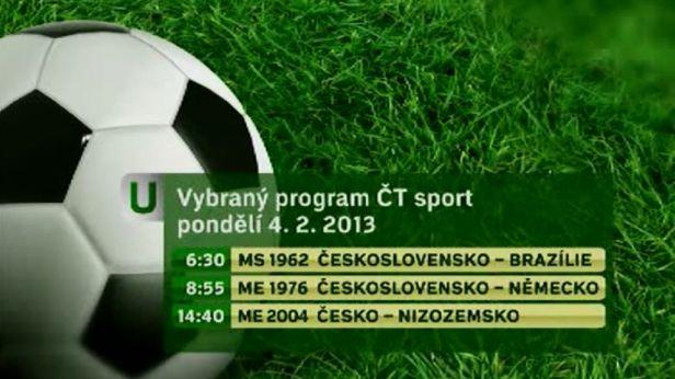 ČT sport nabídne den věnovaný fotbalu