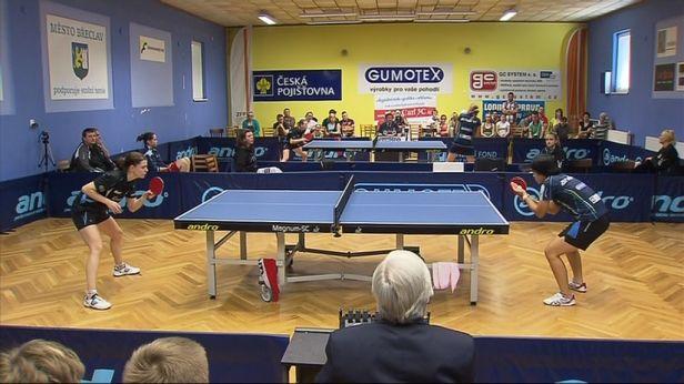 Hodonín slaví po třetí výhře nad Břeclaví mistrovský titul