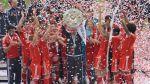 Slavící hráči Bayernu