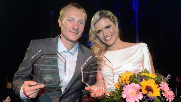 Soukalová a Moravec se stali nejlepšími biatlonisty sezony