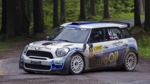 Rallye Hustopeče vyhrál favorizovaný Pech