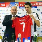 Majitel Plzně Tomáš Paclík a posila Tomáš Hořava