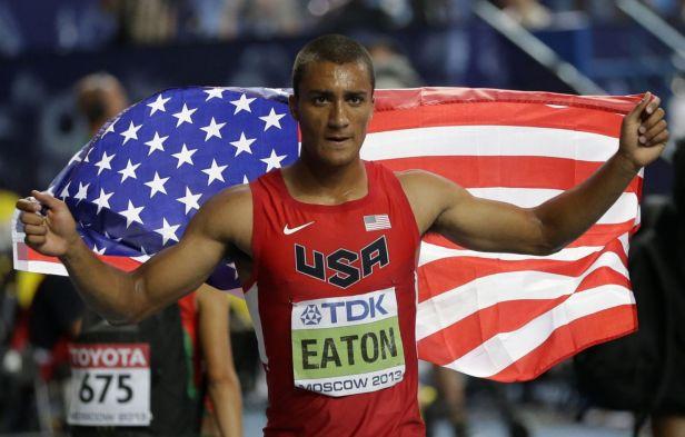 Nejlepším desetibojařem se stal s přehledem Američan Eaton