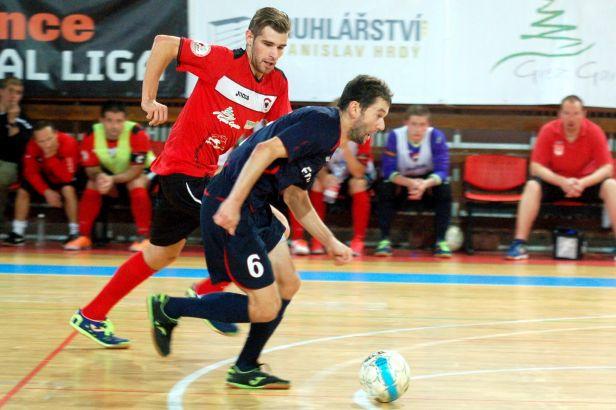 Futsalisté Benaga zvítězili v předehrávce nad Brnem 5:3