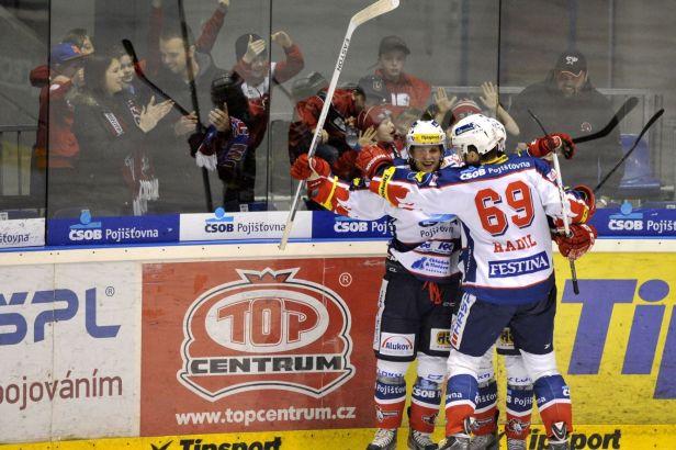 Pardubice byly proti Slavii suverénní: vyhrály 3:0