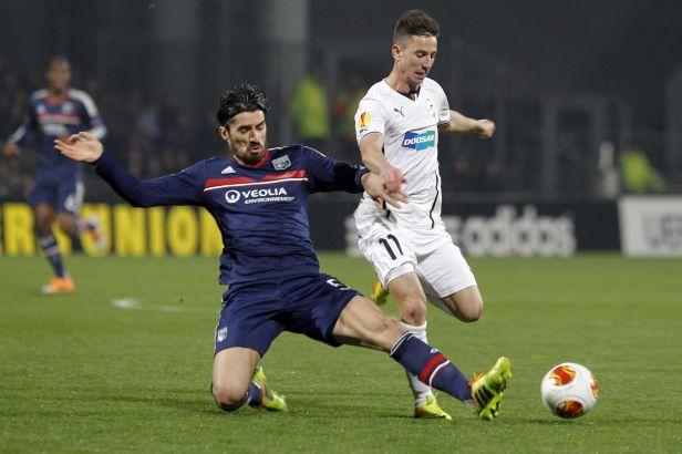 Plzeň vedla, nakonec ji ale Lyon vypráskal 4:1
