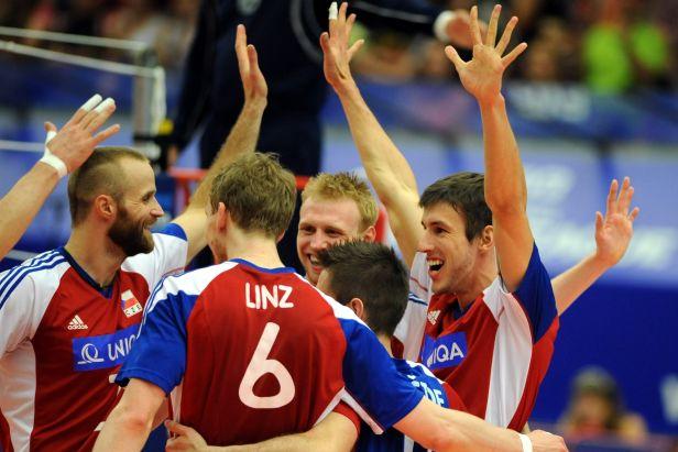 Chceme Francii konkurovat, říká před dvojbojem trenér volejbalistů