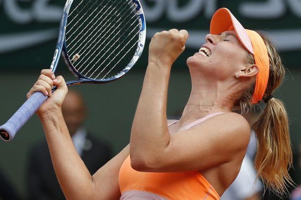 Šarapovová po třech hodinách vydřela druhý titul na French Open