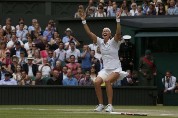 Úchvatné představení a sebejistota, chválí Kvitovou tenisoví velikáni