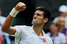Novak Djokovič ve finále Wimbledonu