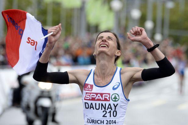 Evropské zlato v maratonu vybojovala Francouzka Daunayová