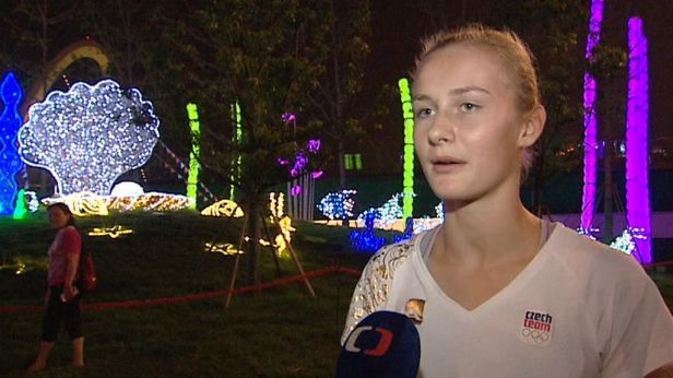 Hrubá získala na hrách mládeže bronz v mezinárodní štafetě