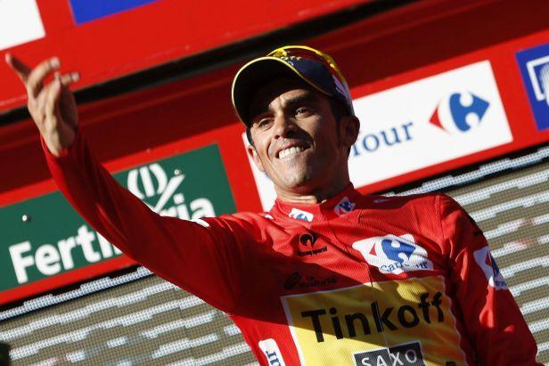Navarro byl v závěrečném kopci nejsilnější, vedení udržel Contador