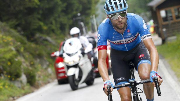 Hesjedal vyhrál 14. etapu, Contador vede už o 42 vteřin