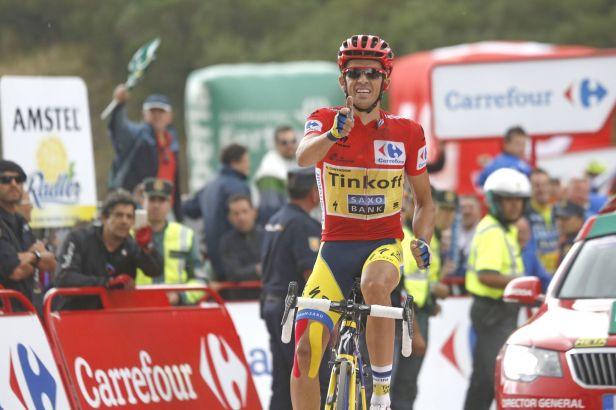 Contador urval v horách Frooma a je etapu od celkového triumfu