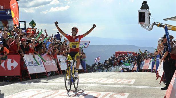Contador po dvou letech opět vyhrál Vueltu
