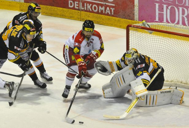 Zápas plný zvratů, Litvínov musel v Olomouci dvakrát otáčet
