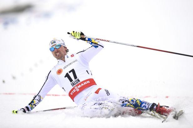 Bauer dojel na patnáctce sedmý, vyhrál Švéd Olsson