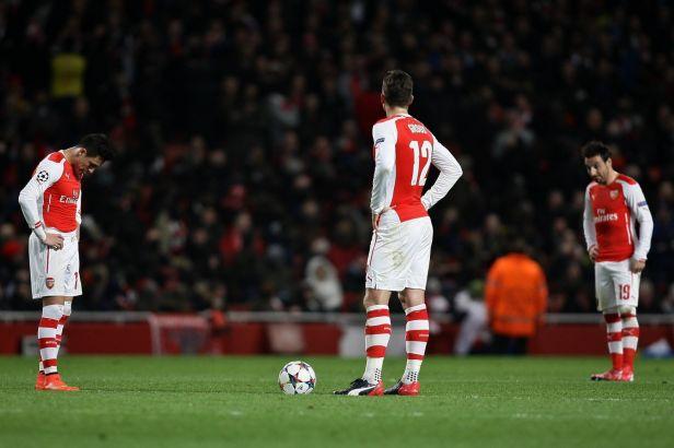 Arsenal nečekaně selhal proti Monaku a je téměř vyřazen