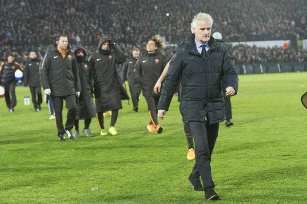AS Řím postoupilo ve vyhroceném utkání přes Feyenoord