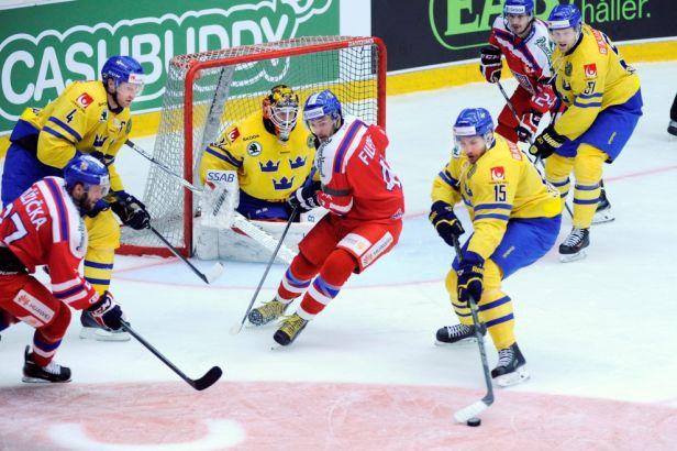 Češi podruhé na Švédy nevyzráli, odvážejí si porážku 1:2