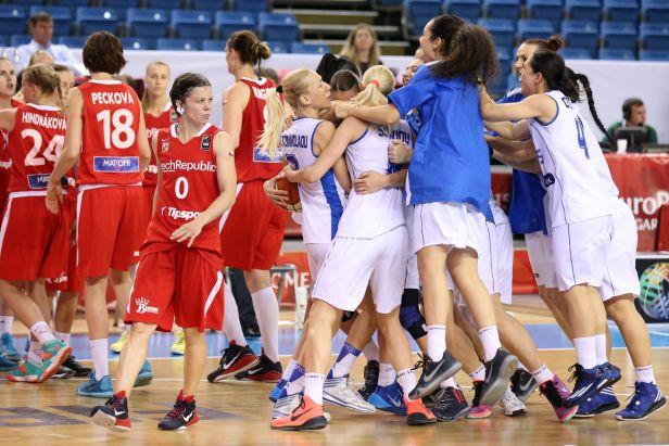Češky nestačily na Řecko a jejich šance na čtvrtfinále je už v oblasti teorie