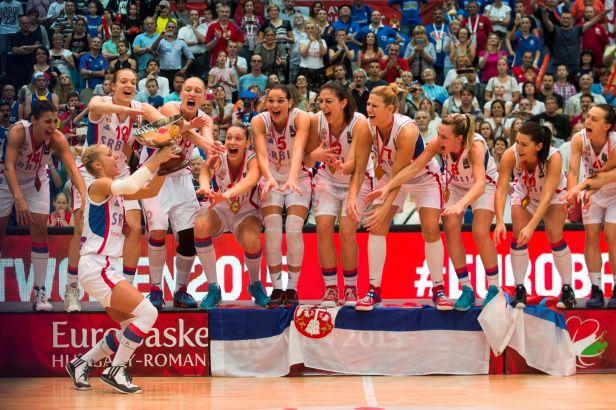 Srbky slaví zlato. Ve finále si poradily s Francií