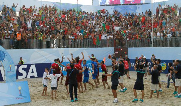 Plážovými mistry světa ve fotbale jsou Portugalci, Tahiti na titul nedosáhlo