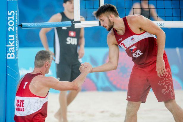 Kubala s Hadravou byli blízko čtvrtfinále, zlato slaví Němky