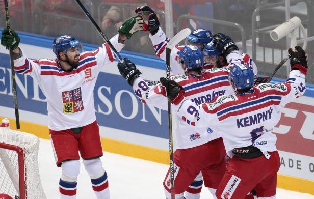 Češi po velmi dobrém výkonu porazili Rusko 4:2 a ovládli moskevský turnaj