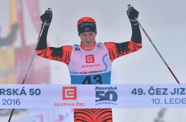 Eliassen se na ostatní neohlížel a dojel si pro vítězství